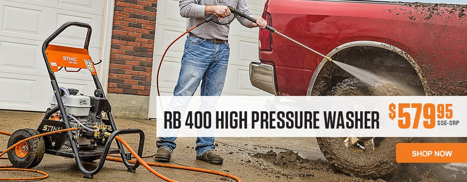 RB 400 High Pressure Washer